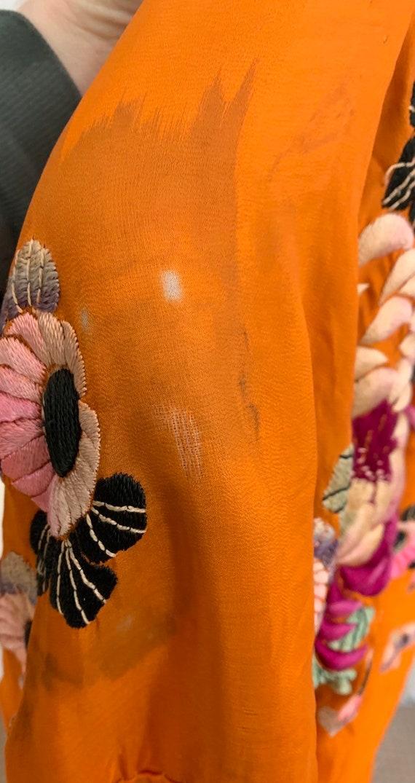 1930s Embroidered Kimono - image 7