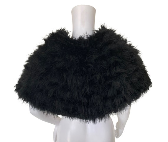 1930s Feather Cape - Marabou