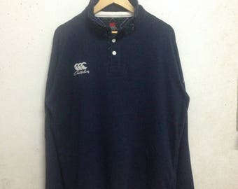 Vintage 90's Canterbury Of New Zealand Sweatshirts Size 3L
