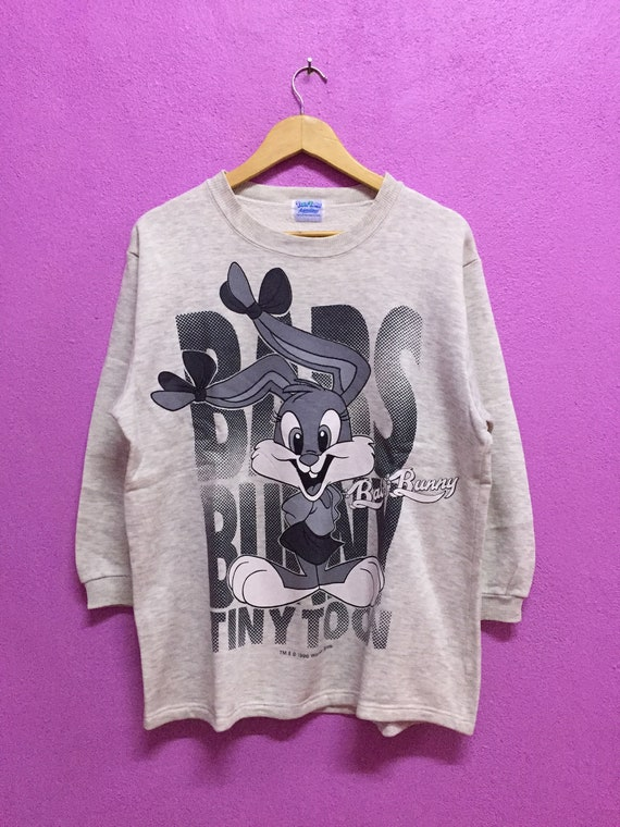 Bugs Bunny Tiny Toon Adventures Sweatshirts Size L
