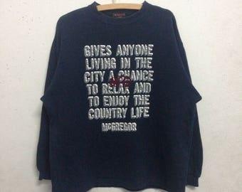 Vintage 90's Mc Gregor Sweatshirts