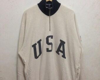 Vintage 90's Polo Sport Ralph Lauren Sweatshirts Size L