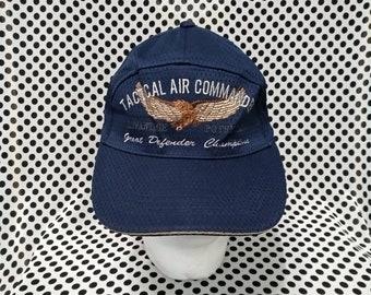 e706aa3f8b2 Vintage Tactical Air Commander Cap Hat