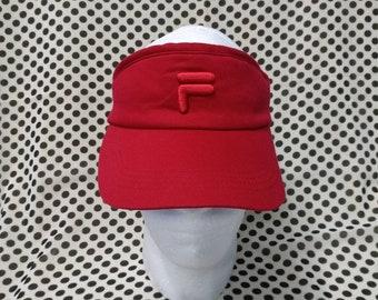 Vintage FILA Golf Visor Hat a480de2dc61e