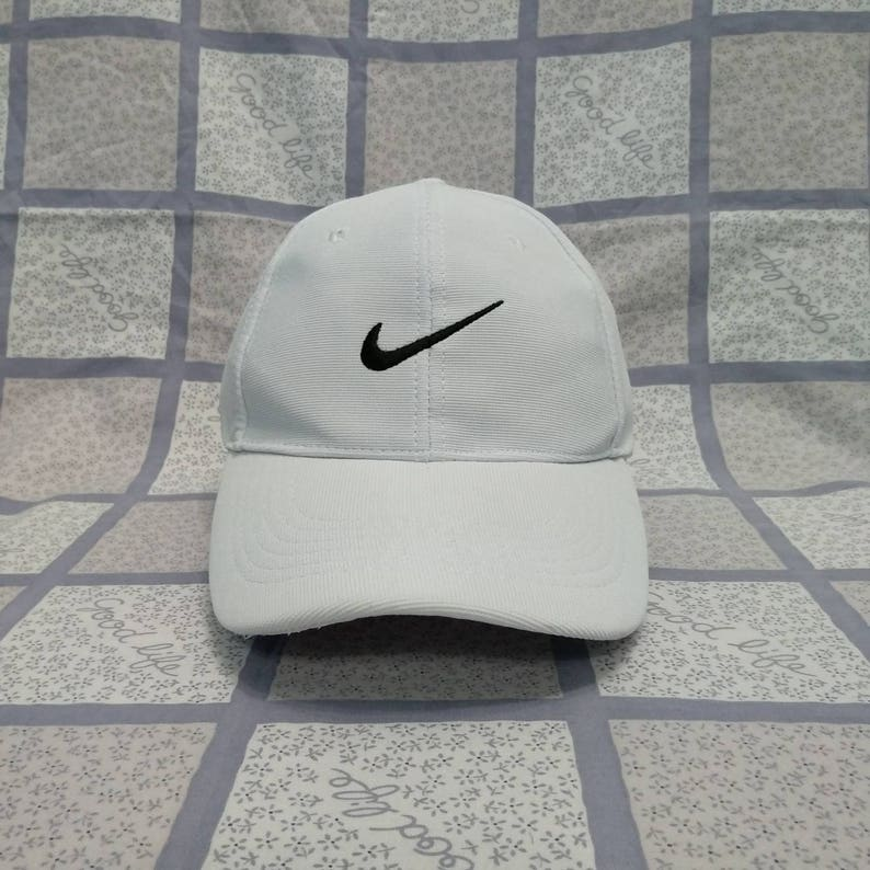 a8e348b301b Vintage NIKE Cap Hat Big Logo Nike Baseball snapback cap