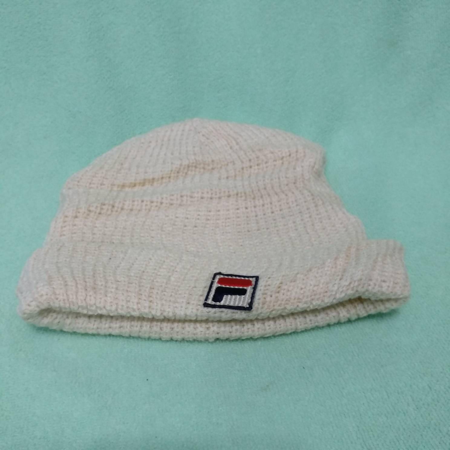 a2ad63cf3e3 Vintage FILA Beanie Winter Outdoor wear Ski Hat Hip hop