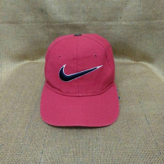 e3c9491598d14 Vintage NIKE Cap Hat/ Just Do It /Embroidered with Big Logo Nike, Baseball  snapback cap, Golfing, Tennis Cap, Nike sports, Adjustable fits