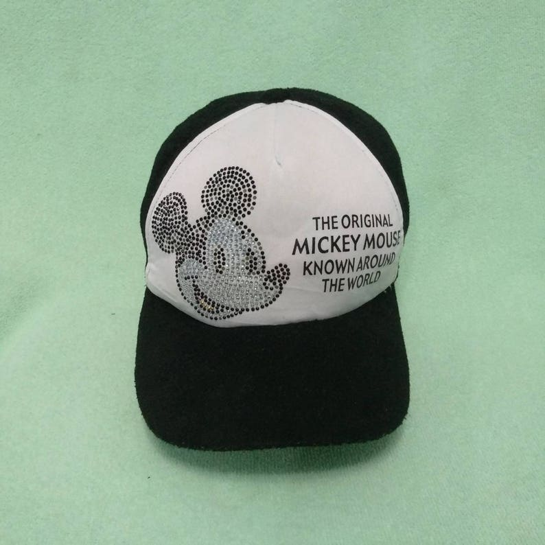 d4d31594a Best Offer!! Vintage MICKEY MOUSE Cap Hat, Big Logo, Outdoor Stylish Street  wear, Souvenir Hat, Baseball Snapback Hat, Adjustable fits