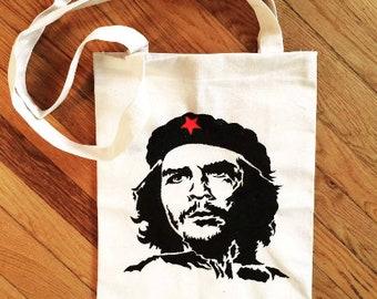 Che Guevara Canvas Tote Shopping Bag Cotton Printed Shopper Bag Xmas Gift
