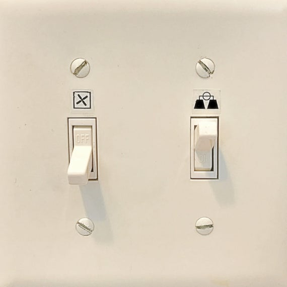 Light Switch Icons Light Switch Labels Light Switch
