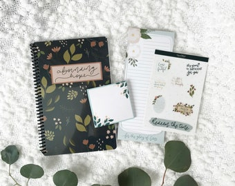 To Do Bundle | Mother's Day Gift | Christian | Bible Verse Stickers | vinyl stickers | undated Planner | sticky notes | notepad