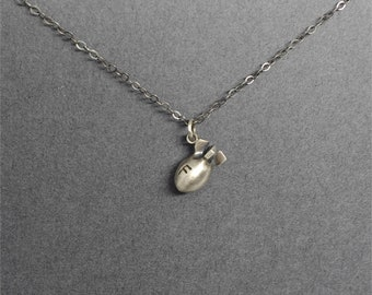 f28a871df6f6 Silver or Gold F Bomb Necklace snarky gifts swear word jewelry