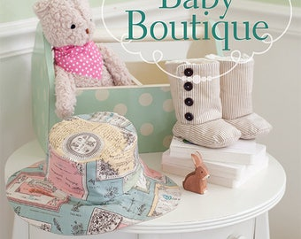 Baby Boutique by Sue Kim--pattern book with 16 handmade projects