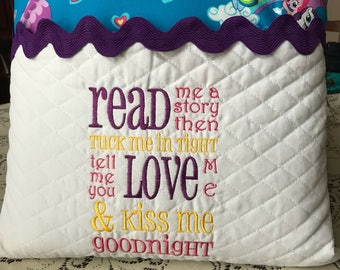 My Little Pony Reading Book Pillow