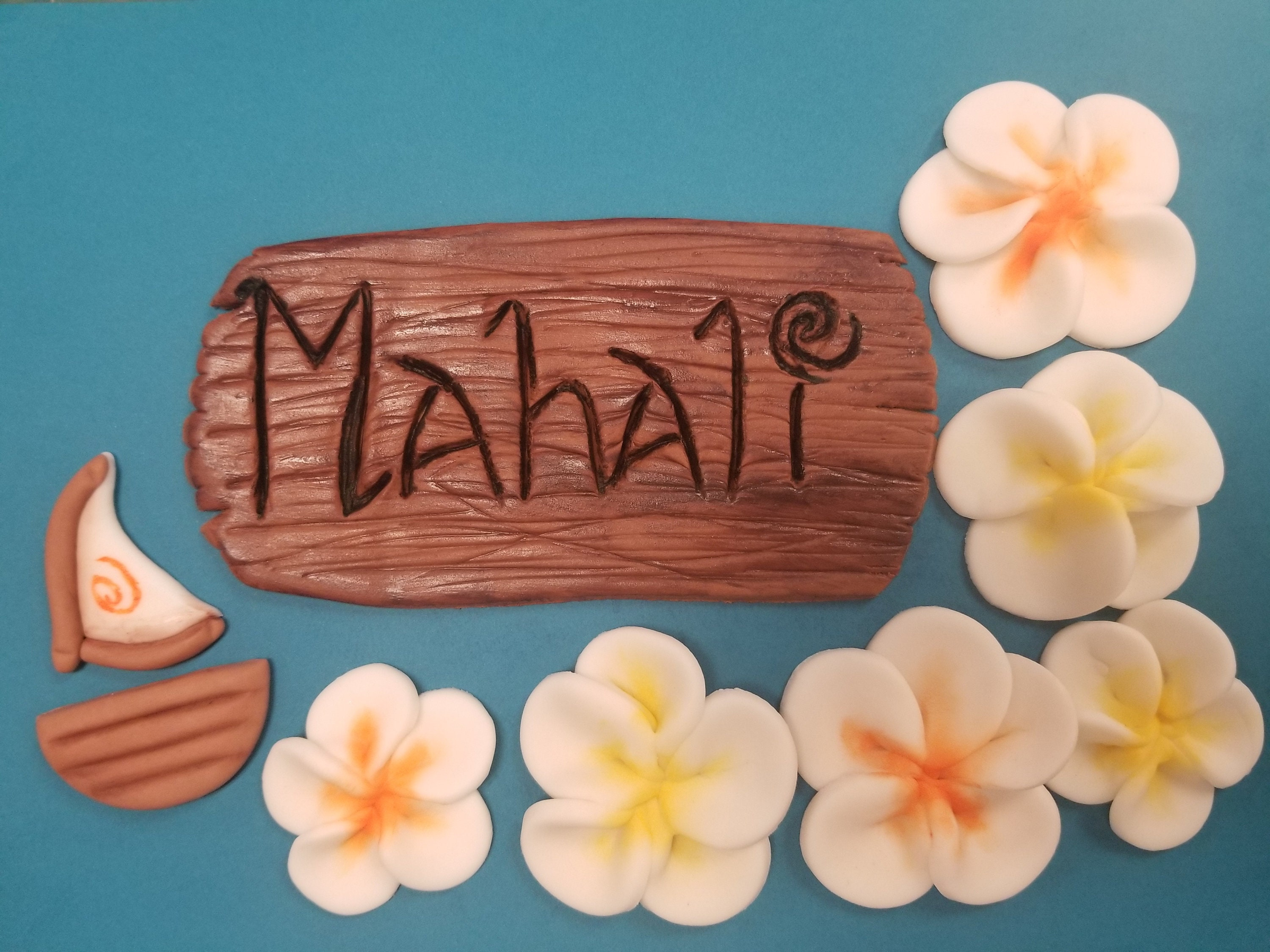 Hawaiian cake decoration hawaiian name sign hawaiian etsy zoom izmirmasajfo