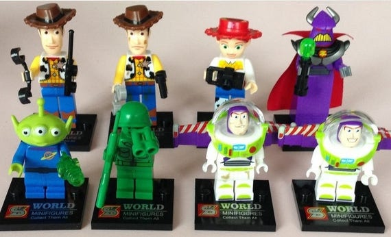 Toy Story Figurines : Disney s pixar toy story disney store toy story deluxe action