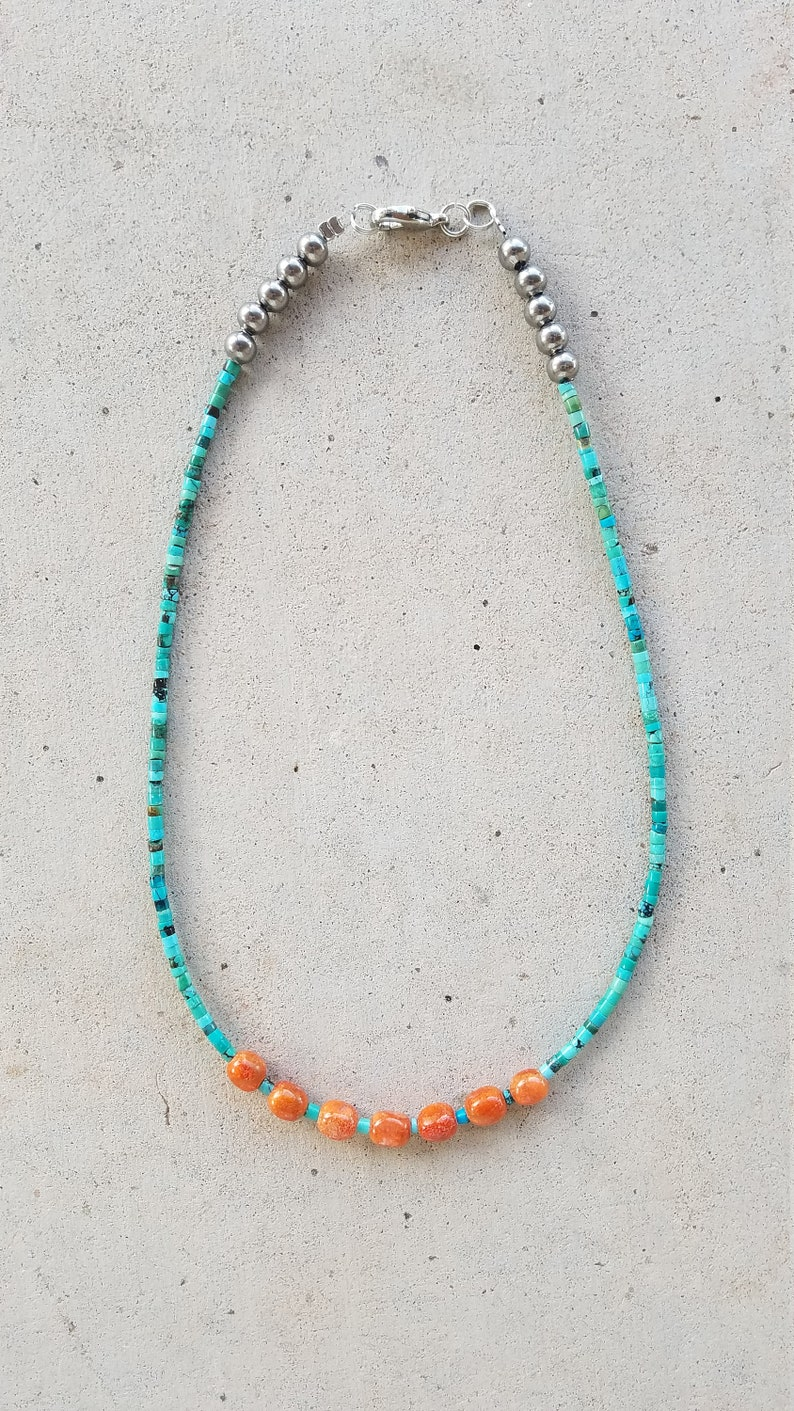 Turquoise /& Coral