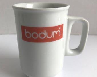 Bodum Mugs Set Of 6 Vintage Ceramic White Danesco Canada Coffee