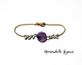 Gaya Amethyst bracelet
