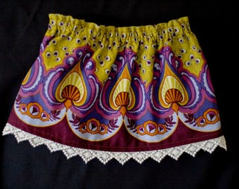 Reversible Skirt ~ 9-18months ~ free shipping