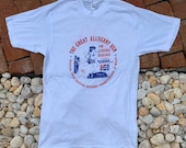 Vintage 80s The Great Allegheny Run 1983 Pepsi McDonalds Sponsored White T shirt Size Small Made In USA