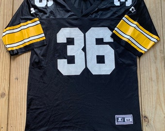 0df5cc8f Vintage 90s Pittsburgh Steelers #36 Jerome Bettis Black Starter Jersey Size  XL Made in USA 1995