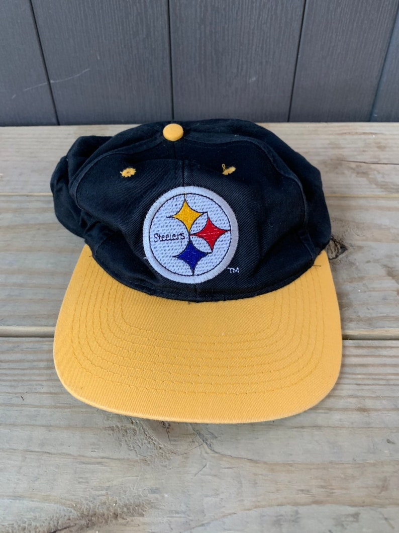 7497969d78f Vintage 90s Pittsburgh Steelers Team NFL Hat Cap Snapback