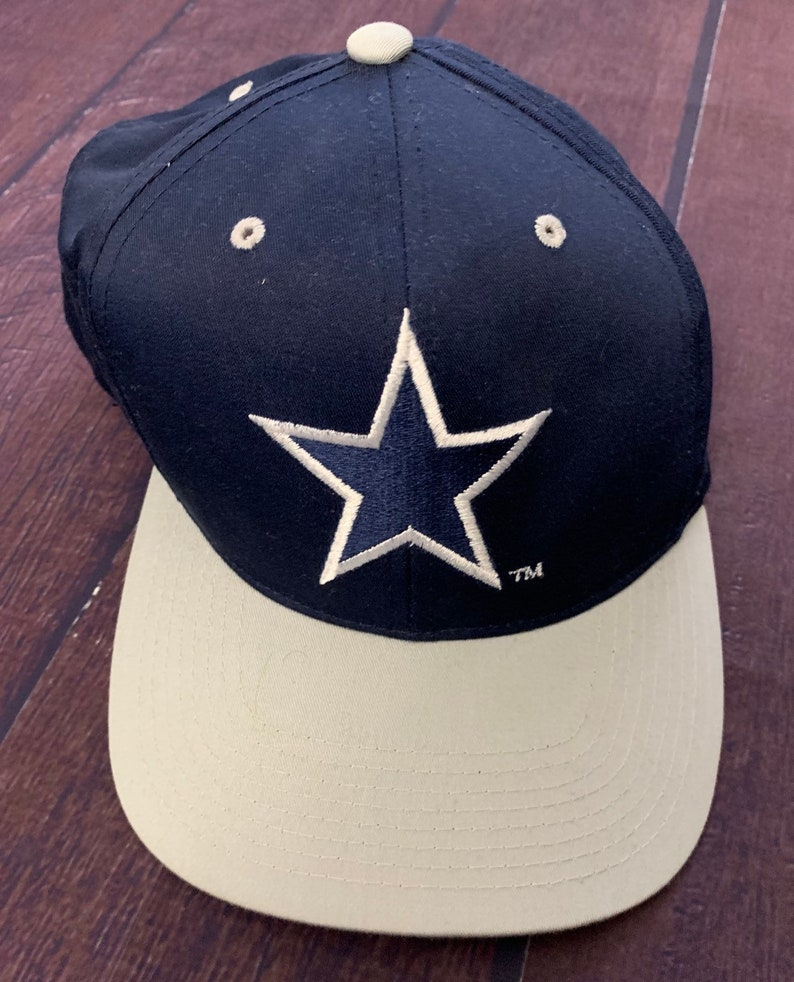 f93b66a38a2eb4 Vintage 90s Dallas Cowboys Deadstock Navy Hat NFL Football New | Etsy