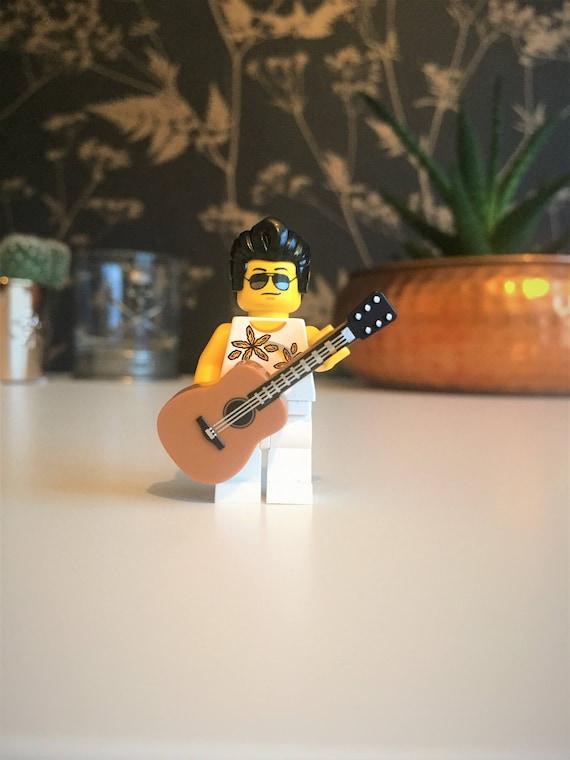 ELVIS PRESLEY FIGURE MINI PLAY WITH LEGOS USA SELLER