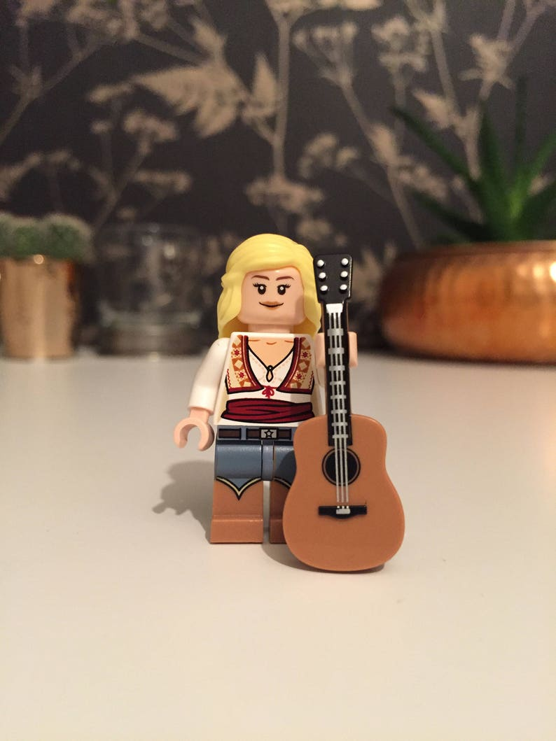 ED SHEERAN Musician Custom Printed on Lego Minifigure!