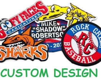 CUSTOM Wholesale Custom Patches Embroidered Patch Personalized Patch ANY Patch w/ FREE Shipping  sc 1 st  Etsy & Custom patches | Etsy