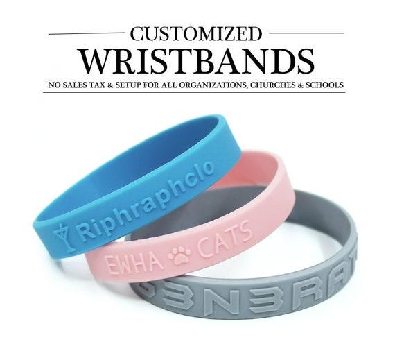 1 Light Blue Prostate Cancer Awareness Silicone ADULT Bracelet Wristband