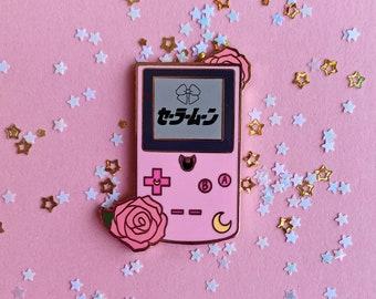 Usagi Inspired Gameboy Pin/ Acrylic Charm (backordered)
