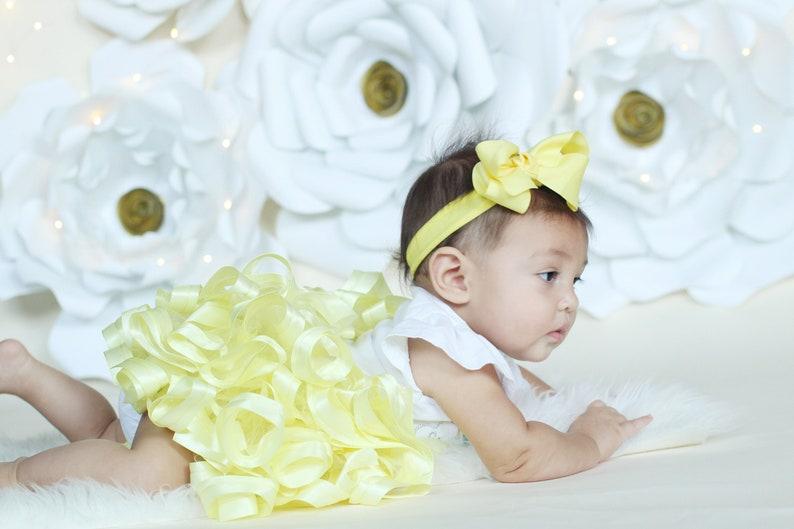 a11b55a68 Light Yellow Tutu baby you are my sunshine 1st birthday