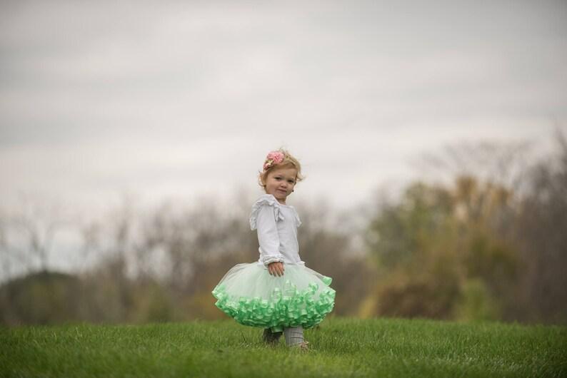 99af54ee1915 Mint tutu ballerina birthday party fairy garden party
