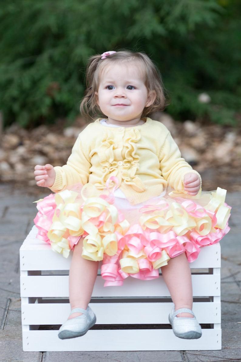 8cdcca1aa Pastel Tutu you are my sunshine 1st birthday outfit unicorn