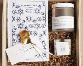 A Christmas Carol Gift Box (wooden box not included)