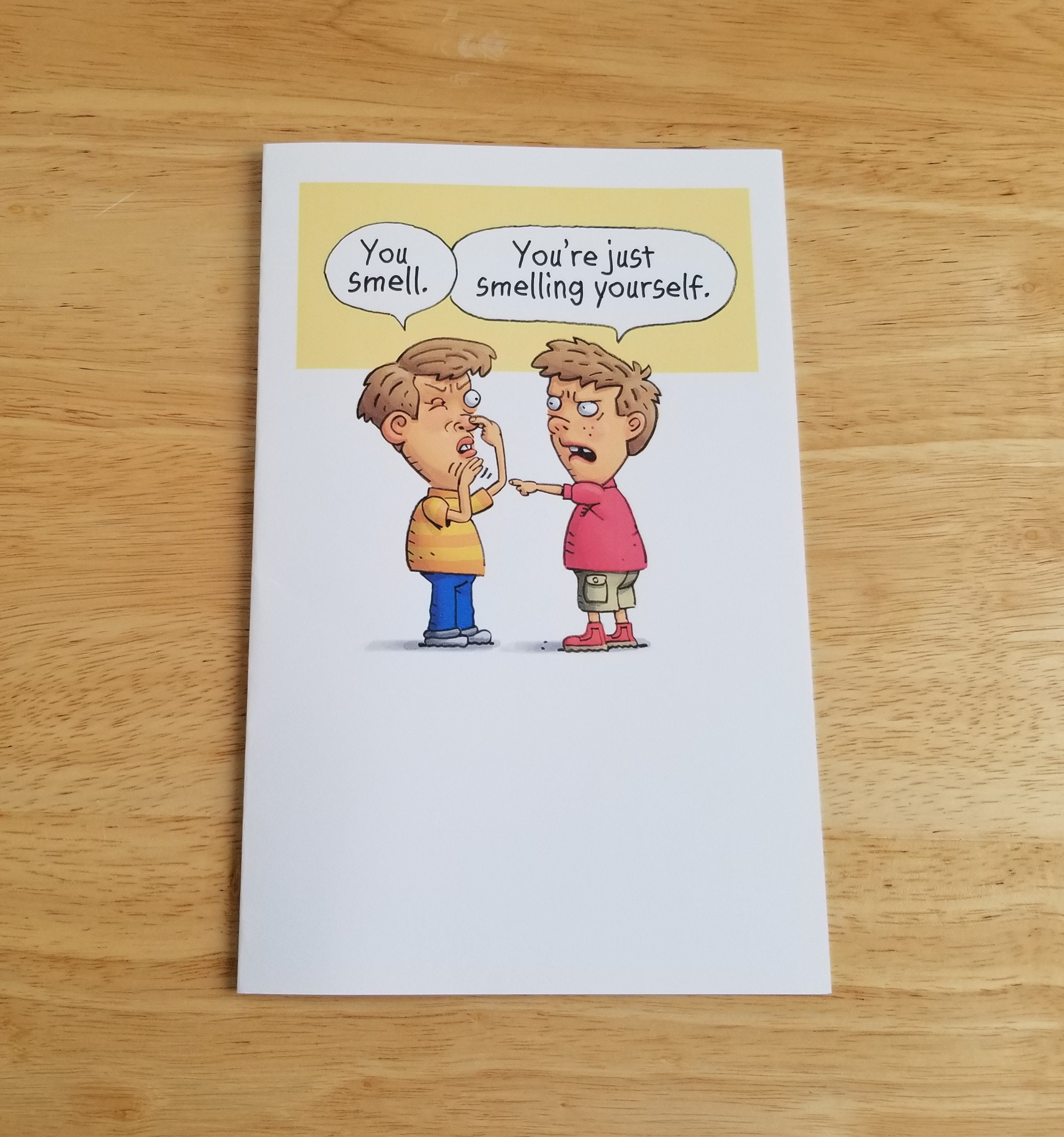 Printable Brother Birthday Card Funny Digital