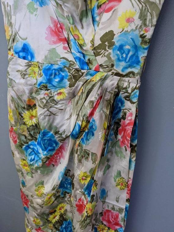 Vintage Ceil Chapman Wiggle Dress // 50s Pinup Bo… - image 8