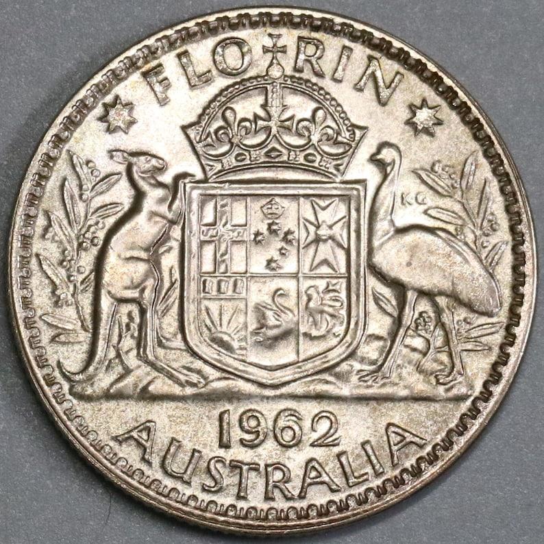 Münzen International Australia 1 Florin 1938 Unc Münzen