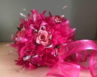 Cold porcelain  wedding bouquet