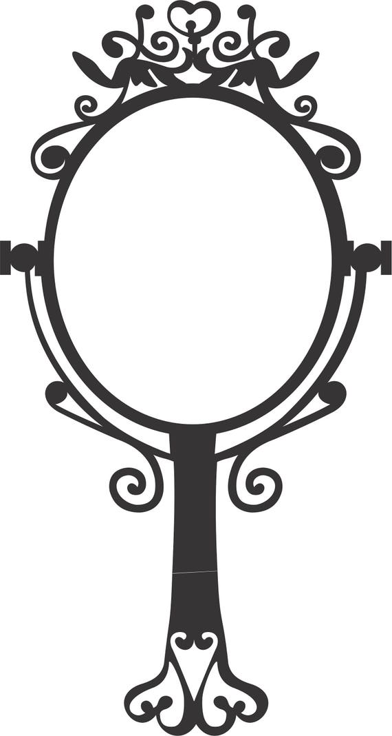 Vector Espejo Princesa Etsy