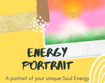 Energy Portrait | A Portrait of your Unique Soul Energy & Reading Explaining What I See | Aura Painting | Psychic Painting | Digital Art