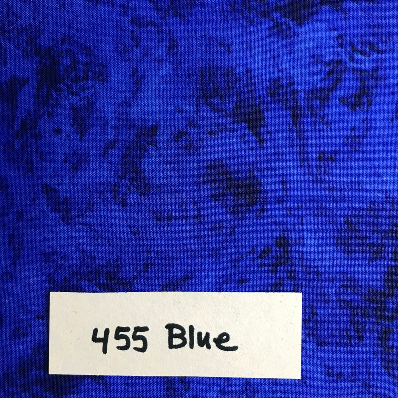 Ocean Blue Blender 455 Illusions 100/% Cotton Fabric by the Yard