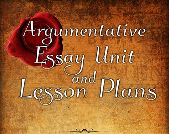 Law of Attraction| The Secret| Lesson Plan| Argumentative Unit Plan| High School Writing| Middle School Writing| Essay| Argumentative Essay