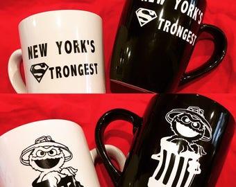 Department of sanitation mugs