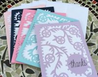 Personalized thank you cards - 10pack