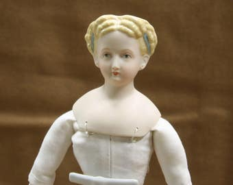 Reproduction Antique Parthania Doll 1865