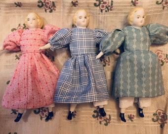 Ella the  19th century dollhouse doll