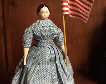Lincoln Campaign flag Doll sized Reproduction